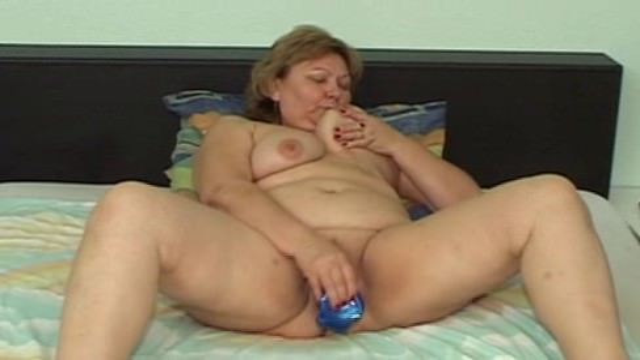 Секс с старой жирной бабкой